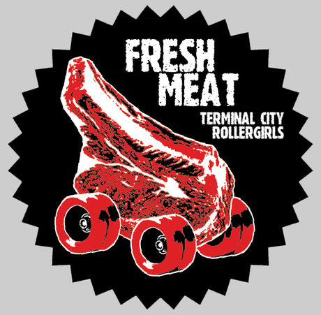 Germaine Koh - Terminal City Rollergirls Fresh Meat logo